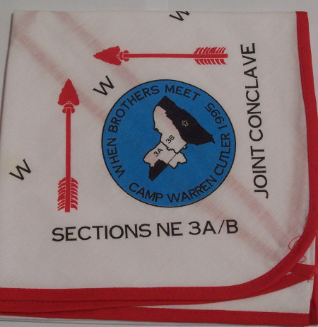 NE-3A 3B 1995 SSC. Neckerchief