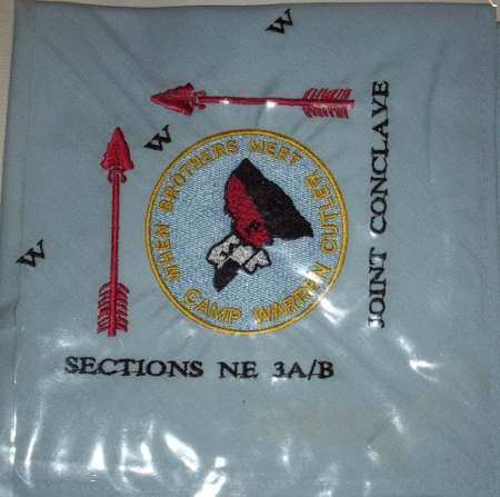 Joint NE-3A 3B 1995 Emb. Neckerchief