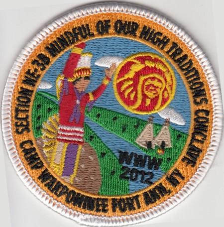 Section NE-3B 2012 Participation Patch