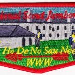 Ho-De-No-Sau-Nee Lodge #159 2013 Jambo Flap S51
