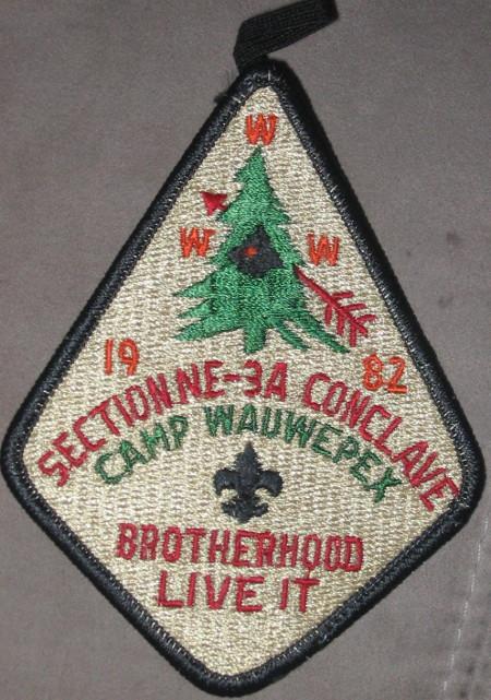 Section NE-3A 1982  Pocket Patch