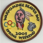 Discovery Haudenosaunee Lodge #19	Wakpominee Chapter eR2005-1 Spring Beaver Day