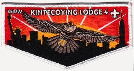 Kintecoying Lodge #4 New Regular Issue Flap S3