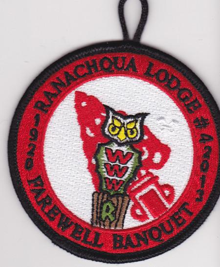 Ranachqua Lodge #4 Farewell Banquet eR2013