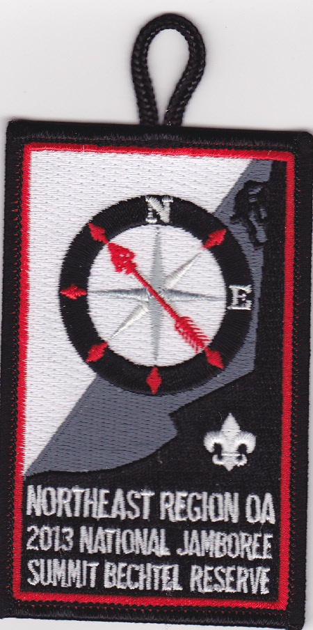 Northeast Region Order of the Arrow 2013 Jamboree Patch