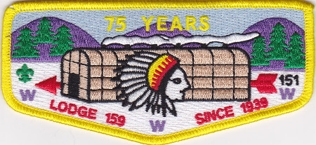 Ho-De-No-Sau-Nee Lodge #159 75th Anniversary S53