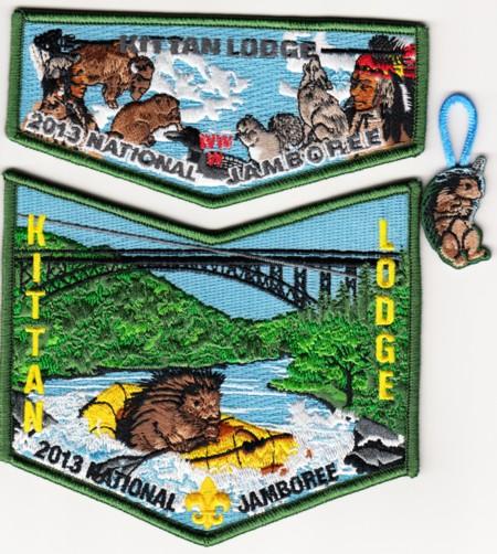 Kittan Lodge #364 2013 Jamboree Set S26  X14 & X15