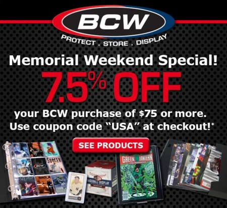 BCW Supplies is a popular fan gear & paraphernalia retailer which operates the website cemedomino.ml of today, we have 1 active BCW Supplies promo code and 1 sale. The Dealspotr community last updated this page on July 24, BCW Supplies has an average discount of 5% off and an average time to expiration of 60 days.4/4(2).