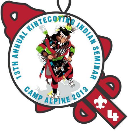 Kintecoying Lodge #4 13th Indian Seminar Artists Rendition