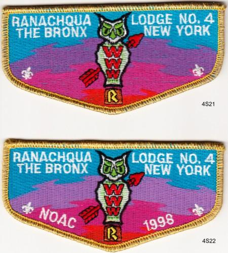 Ranachqua Lodge #4 S21 & S22