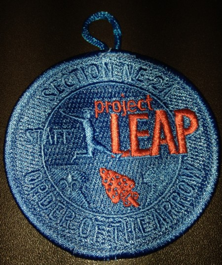 Section NE-2A 2013 Project Leap – Staff Patch