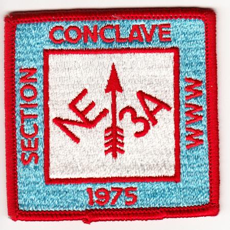 Section NE-3A 1975 Conclave Pocket Patch