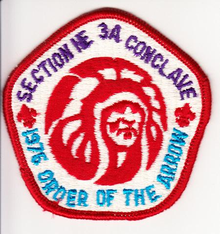 Section NE-3A 1976 Conclave Pocket Patch