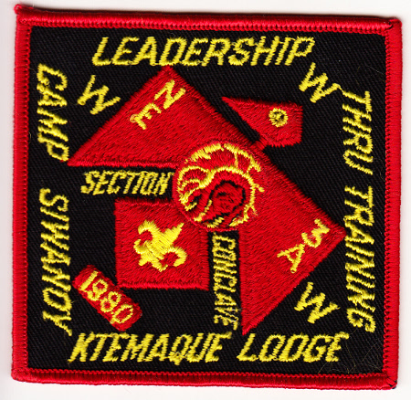 Section NE-3A 1980 Conclave Pocket Patch