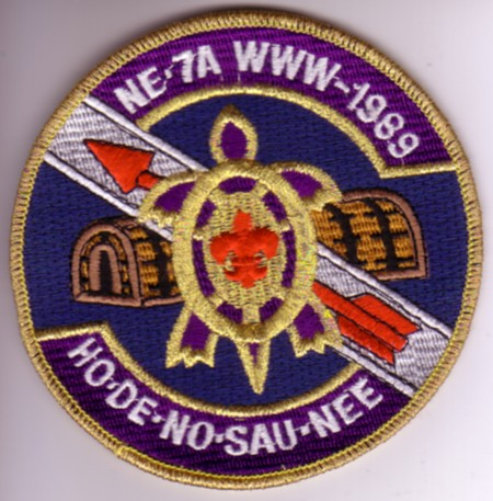 Section NE-7A 1989 Conclave Pocket Patch