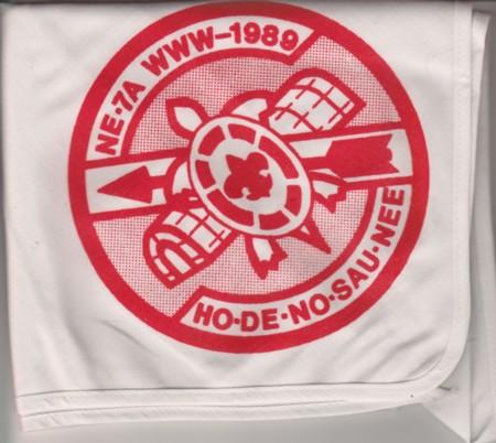 Section NE-7A 1989 Conclave Red Neckerchief