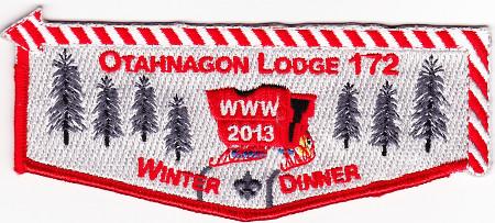 Otahnagon Lodge #172 2013 Winter Dinner Flap eS2013