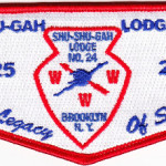 Kintecoying Lodge #4 HS2 & Shu Shu Gah Lodge #24 HS1 A Legacy of Service Flap