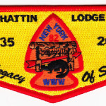 Kintecoying Lodge #4 HS4 & Man-A-Hattin Lodge #82 HS1 A Legacy of Service Flap