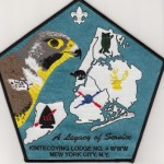 Kintecoying Lodge #4 Jacket Patch J1