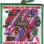 Section NE-3A 2004 Green Border Pocket Patch