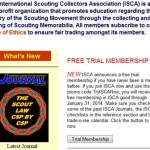 Free Membership to the International Scout Traders Association