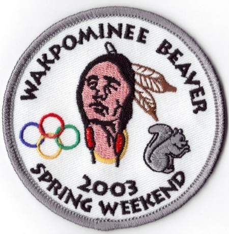Haudenosaunee Lodge #19 Wakpominee Chapter 2003 Beaver Spring Weekend eR2003-1
