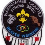 Discovery Haudenosaunee Lodge #19 Wakpominee Chapter eR2002-1 Spring Beaver Weekend