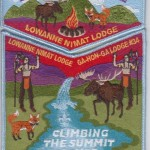 Lowanne Nimat Lodge #219 2013 Jamboree Trader Set S10 X3
