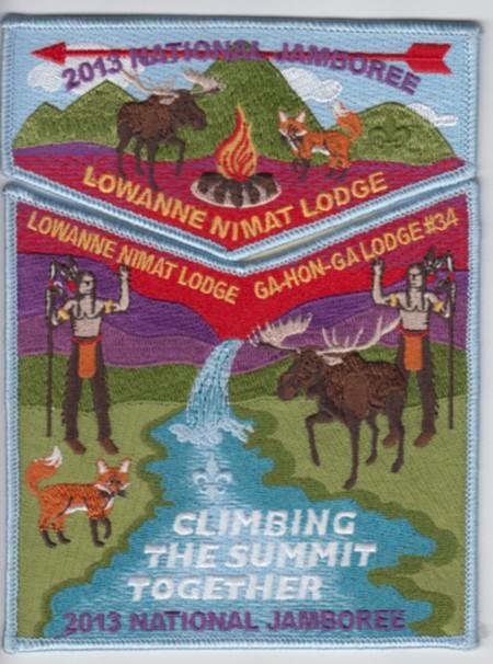 Lowanne Nimat Lodge #219 2013 Jamboree Trader Set S10 X3