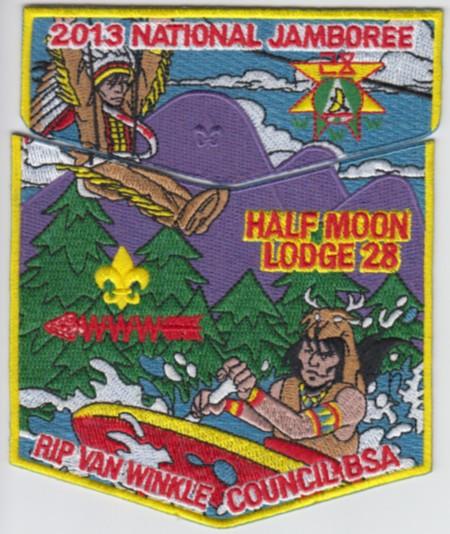 Half Moon Lodge #28 2013 Jamboree Set S44 X15