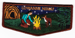 Lowanne Nimat Lodge #219 New Regular Issue Flap S12