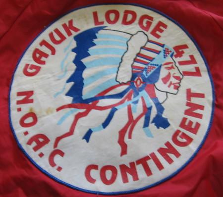 Gajuka Lodge #477 NOAC Contingent J4
