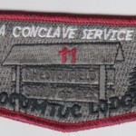 Section NE-2A 2011 Conclave Service Lodge Flap (83)S10