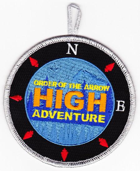 Northeast Region OA High Adventure Fundraiser Patch - SMY Border