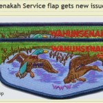Wahunsenakah Service Flap – New Issue