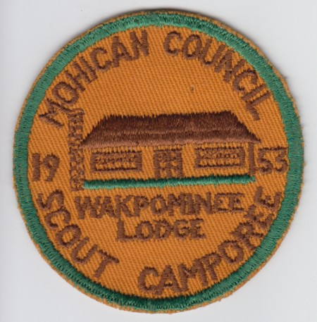 Wakpominee Lodge #48 Scout Camporee eYR1953