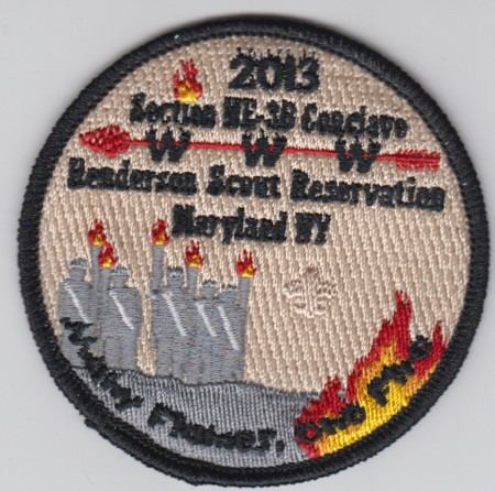 Section NE-3B 2013 Participant Patch