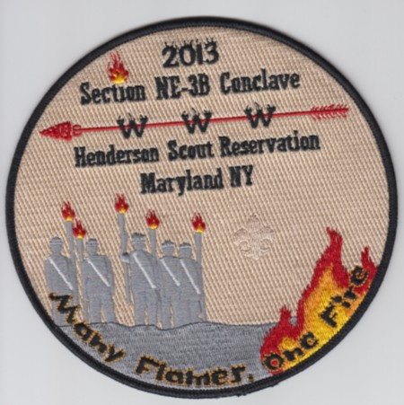 Section NE-3B 2013 Jacket Patch