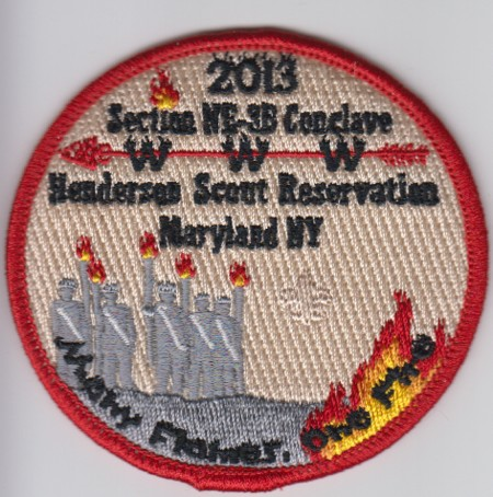 Section NE-3B 2013 Host Lodge Patch