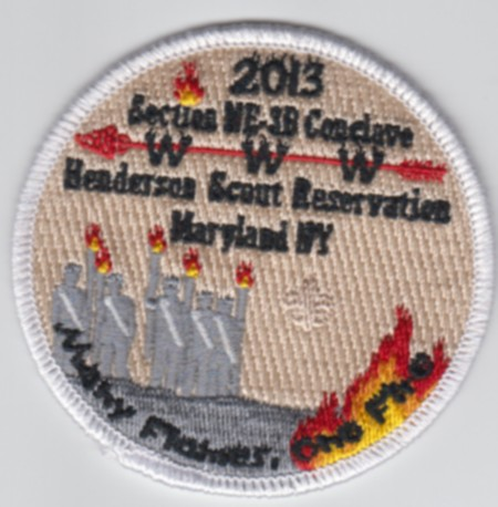 Section NE-3B 2013 Staff Patch