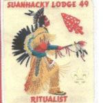 Suanhacky Lodge #49 Vigil Ritualist Dangle X53