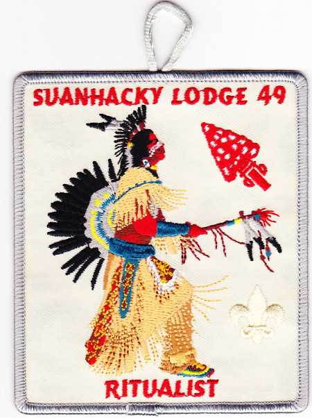 Suanhacky Lodge #49 Adult Ritualist Dangle X54
