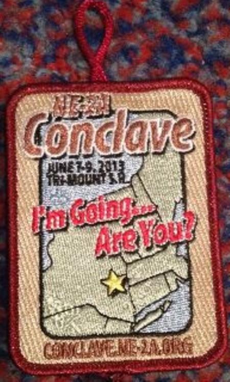 Section NE-2A 2013 Conclave Promo Patch
