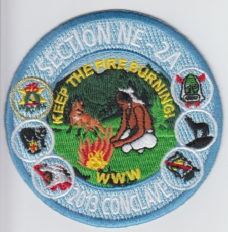 Section NE-2A 2013 Conclave Trading Post Patch