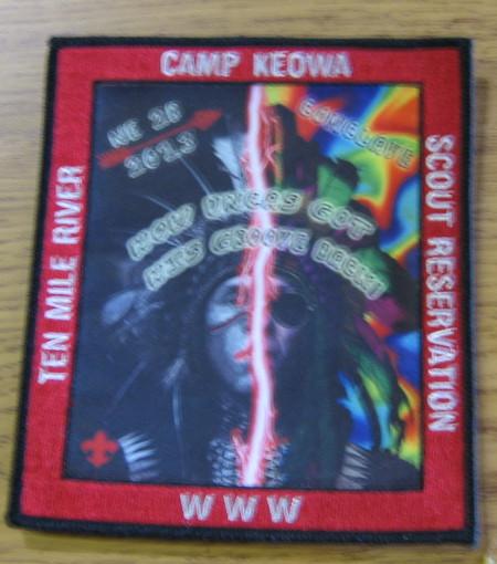 Section NE-2B 2013 Conclave Jacket Patch