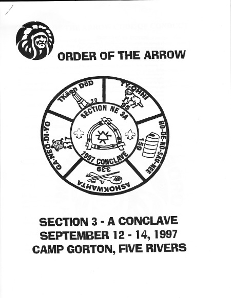 Section NE-3A 1997 Conclave Booklet
