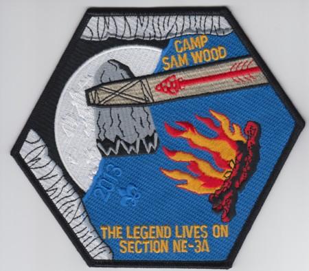 Section NE-3A 2013 Jacket Patch