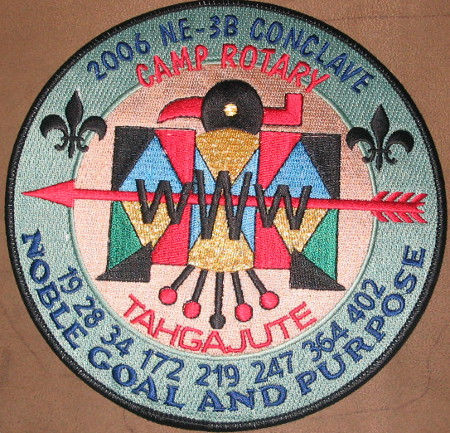 Section NE-3B 2006 Conclave Jacket Patch