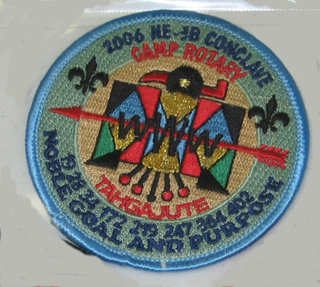 Section NE-3B 2006 Conclave LBL Pocket Patch
